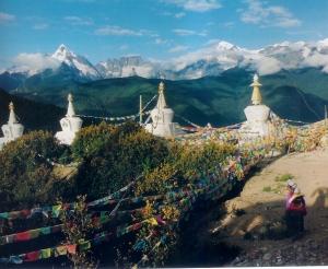 Stupa verso il Monte Meili, 2006 (Paolo Giammarroni)